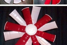 Red Solo cup / by Jenn Dell'Orco Miller