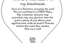 Mary Kay Valentines / by Mandy Naranjo