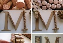 Wine Cork Crafts / by Glue and Glitter
