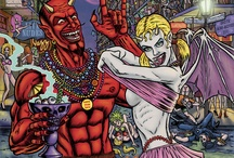 Satan Gone Wild / Robert S. Rhine's Horror anthology / by Frank Forte