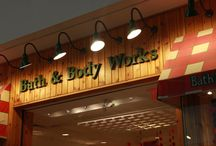 Vintage Bath & Body Works Stores / Old-style Bath & Body Works stores from the 90's. / by BBW Heartland