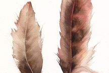 FEATHER ART / by Gail Welicki