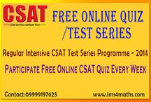 IAS CSAT Examination / by Ims New Delhi