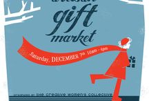 10th Annual Artisan Gift Market / Saturday, December 7, 2013 10 am – 4 pm Glen Ridge Congregational Church 195 Ridgewood Avenue Glen Ridge, NJ http://www.creativewomencollective.org/ / by Montclair Made