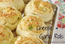YHM -Bread / A collection of delicious sweet and savory breads, rolls and sweet roll recipes / by Leigh Anne, YourHomebasedMom