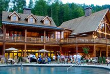 Resorts / Resorts and lodges in Jackson County, North Carolina provide a great destination for your next vacation in the Great Smoky Mountains. Experience scenic landscapes to relax and unwind. Or take in outdoor adventures with a full array of incredible resort amenities for those who want to play. / by North Carolina Mountains