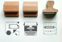 RUBBER STAMPS AND STAMP CARVING / by .Liesbeth.