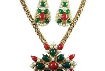 Vintage Christmas Jewelry & Accessories / A collection of vintage holiday jewelry & accessory pieces from a plethora of venues...Enjoy and I hope that you find a piece to sparkle up your holiday season! / by Pam Whimsicalvintage