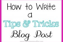 BLOGGITY BLOGS / Tips, tricks and Blogs I love, and follow. www.ourmisconception.blogspot.com / by Candace Wohl