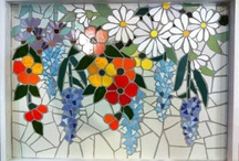 flowers mosaics / by Betty Pengilly