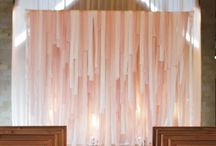 Backdrops / by Bespoke-Bride