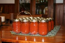 canning, freezing and cooking ahead / by Christina Phillips