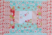 Quilts red and aqua / by Susan Pedersen