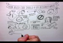 UX - Visual Storytelling / Whiteboard Videos / You know those RSA animate videos? Well, here's examples, and a few resources for how to do them (or something like it) yourself! / by Deb Aoki