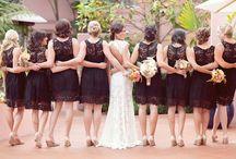 my girls (bridesmaids) / by Nancy Arias de Diaz