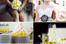 Grey and Yellow Wedding / by Stacy Richardson