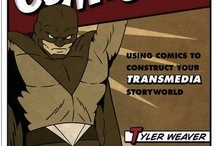 """ComicStoryworld / A visual bibliography and news from my  book, """"Comics for Film, Games, and Animation: Using Comics to Construct Your Transmedia Storyworld"""" (ComicStoryworld for short). // comicstoryworld.com (Also - awesome comics-related stuff!!!) / by Tyler Weaver"""