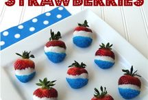 July 4th/ patriotic ideas / Cakes treats decor  / by Estera Carp