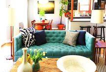 living spaces. / by Lauren Purmalis