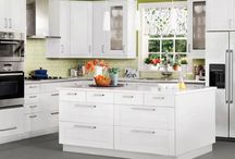 Ikea Kitchen Ideas / by Andrea Voth