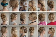 Hair Ideas / by Evelyn Kathleen Kirkpatrick Couts