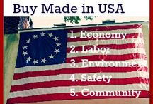 Made In the U.S.A / by Lynnette Marston
