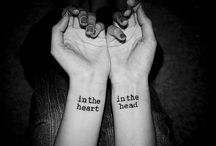 "Tattoos. / I like the phrase ""body art"". / by Korrin Jorgensen"