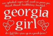 Georgia on my mind / by Mary Jane Watson