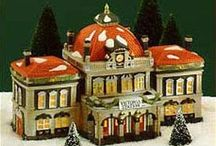 Dickens' Christmas Village (Dept. 56) HAVE / by Debra Clymer