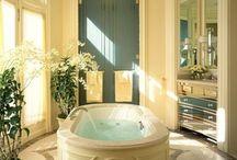 Rub a dub dub...I love this tub! / awesome tubs / by Tish Roussos