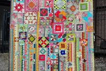 Block of the month / resources for Block of the month quilt projects / by Zen Chic, modern quilts by Brigitte Heitland