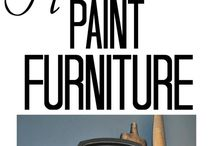 Furniture painting / by Stacy Nelson