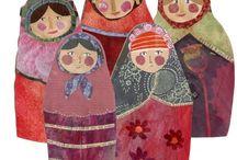 babushka matryoshka / babushka dolls and matryoshka nesting dolls / by Johanna Hatlestad
