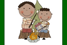 Classroom camp theme / by Michelle Denney