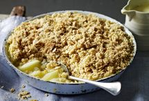 Hot pudding recipes / From old-fashioned steamed puds to simple crumbles, it's all here / by BBC Food