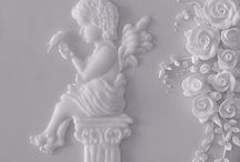 Royal Icing / Lambeth, Nirvana, Oriental String work / by Mary Virginia Gage