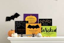 REAL SIMPLE Halloween / WONDERFULLY WICKED! Introducing a creepy new line of REAL SIMPLE Halloween cards and invitations to help you reach out and scare someone (nicely).  Shop REAL SIMPLE stationery: www.finestationery.com/realsimple / by FineStationery