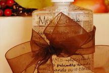 homemade gift ideas / by Susann Erdman-Gehring