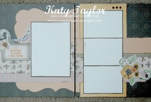 projets  de scrapbooking  / by catherine TRIOLETTO