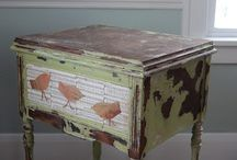 decoupage funiture / by Lynda Moore