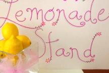 Lemonade stand / by Arran Nailor