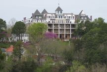 Favorite Places  / The Crescent Hotel, Eureka Springs, AR / by Cindy Milton