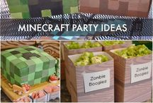 Minecraft party for girls / by Carla AJ