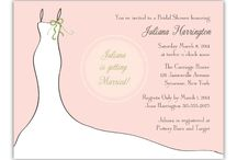 Bridal Shower Invitations / Bridal shower is a party to honor the bride-to-be that calls for special bridal shower invitations to send to friends and family. / by Wedding Bedazzle