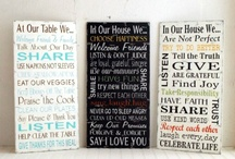 for the home / by JACKIE REYES