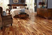 Acacia wood floors / by Jennifer Rock