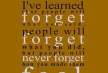 quotes / by Angela Applegate