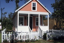 cute little houses / by Angie Upchurch