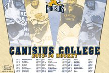 2013-14 Schedule Posters / Schedule posters for Canisius athletics for the 2013-14 athletic seasons / by Canisius Athletics