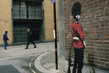 street arts - creative moment in everyday life / by Claire in Pink
